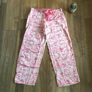 PINK Victoria's Secret Flannel PJ Pants